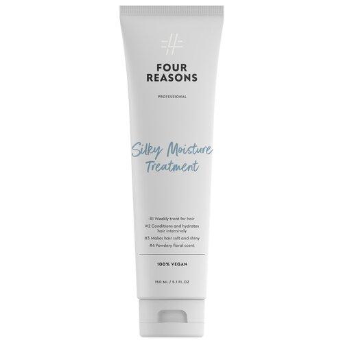 Фото - Four Reasons Интенсивно увлажняющая маска для сухих волос Silki Moisture Treatment, 150 мл medius двойная маска увлажняющая moisture focus 25 мл