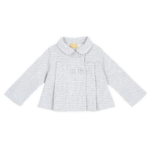 Купить Полупальто Chicco 8054707512825 размер 98, серый, Пальто и плащи