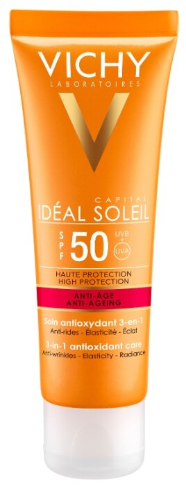 Vichy крем Capital Ideal Soleil Anti - Aging SPF 50