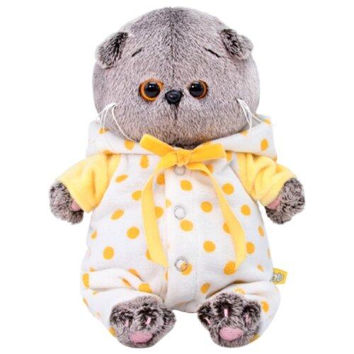 Купить Мягкая игрушка Basik&Co Кот Басик baby в комбинезончике 20 см, Мягкие игрушки
