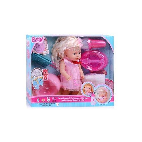 Фото - Кукла Oubaoloon Baby, 25 см, 8982-1E кукла oubaoloon martina 14 см 601 c
