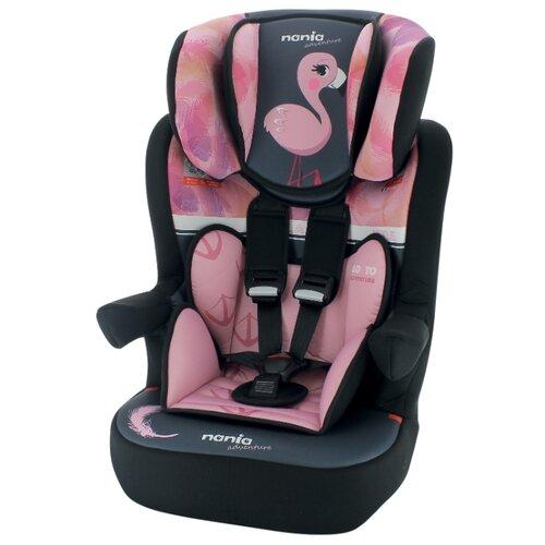 Купить Автокресло группа 1/2/3 (9-36 кг) Nania I-Max SP Animals (2020), flamingo, Автокресла