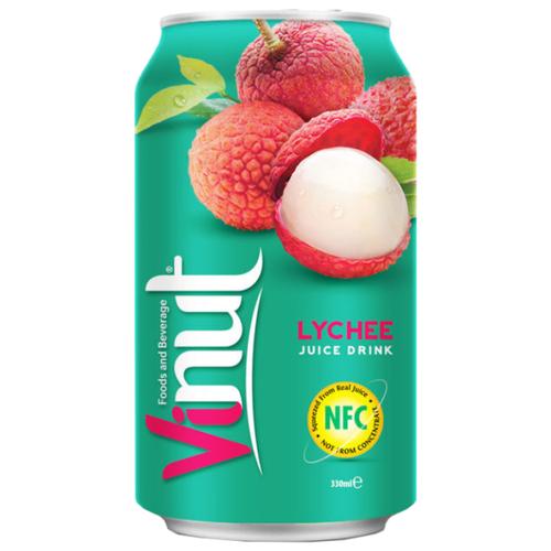 Напиток сокосодержащий Vinut Личи, 0.33 л