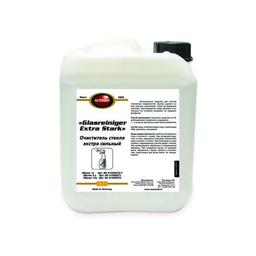 Очиститель для автостёкол Autosol GlasReiniger Extra Stark 01 005071, 5 л