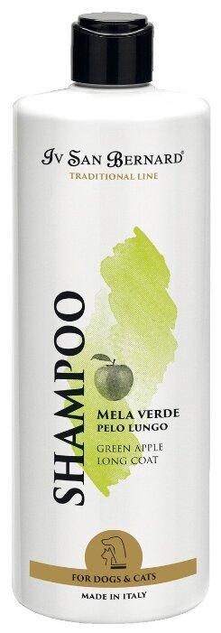 Iv San Bernard Isb Traditional Line Green Apple Шампунь для длинной шерсти 500 мл