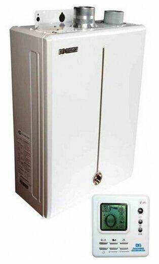 Конвекционный газовый котел Daewoo DGB-200 MSC, 23.3 кВт, двухконтурный фото 1