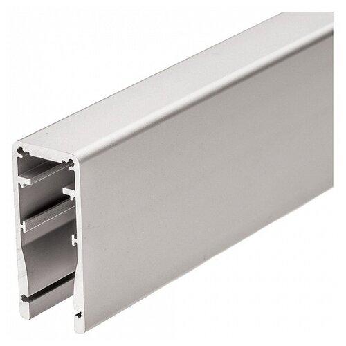 Профиль Arlight ALU-HANDRAIL-2000 FOR GLASS 17.5 серый профиль arlight alu power w35s 2000 anod frost серый