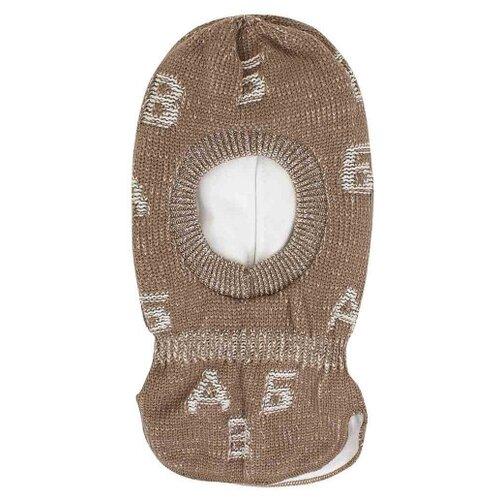 Купить Шапка-шлем Prikinder размер 46-48, бежевый, Головные уборы