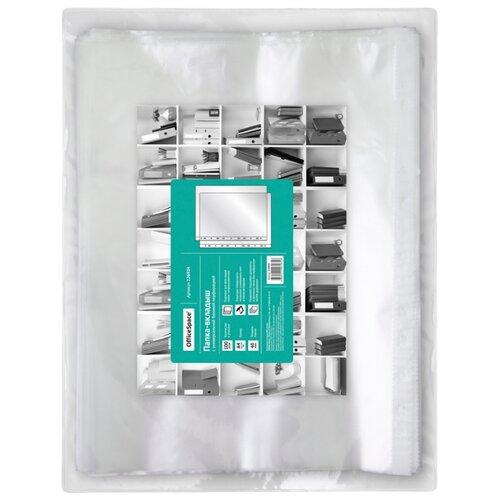 Купить OfficeSpace Папка-вкладыш с перфорацией А4, 40 мкм, матовая, 100 шт бесцветный, Файлы и папки