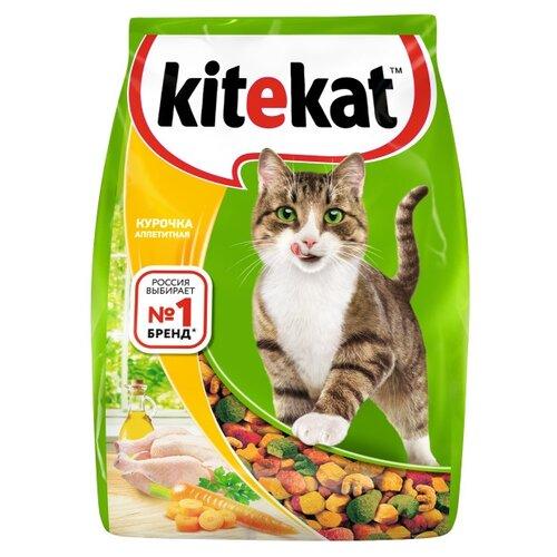 Сухой корм для кошек Kitekat с курицей 800 г