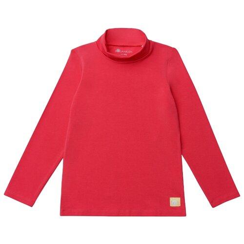Водолазка Kogankids размер 116, красный платье kogankids размер 116 синий