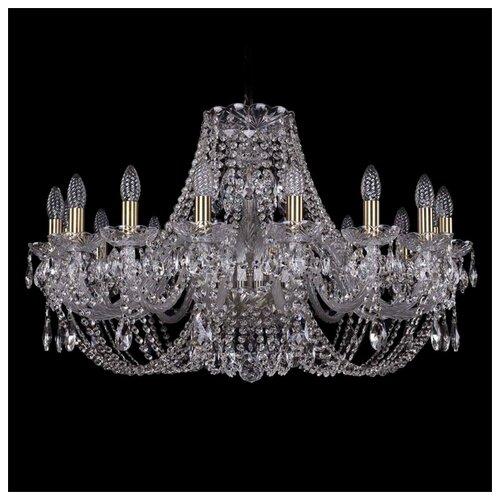 Люстра Bohemia Ivele Crystal 1406 1406/16/300/Pa, E14, 640 Вт люстра bohemia ivele crystal 1406 1406 12 300 pa