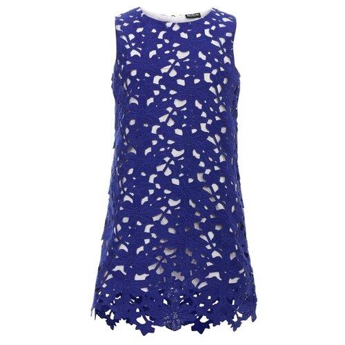 Купить Платье Gulliver размер 146, синий, Платья и сарафаны