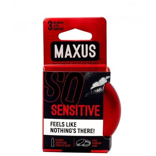 Презервативы Maxus Sensitive (3 шт.)