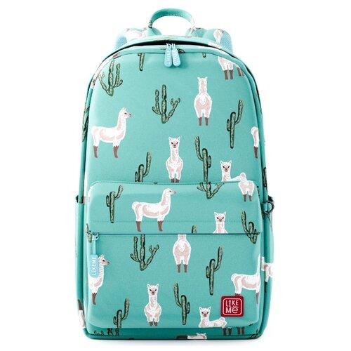 Купить Like Me рюкзак Teens Ламы, голубой, Рюкзаки, ранцы