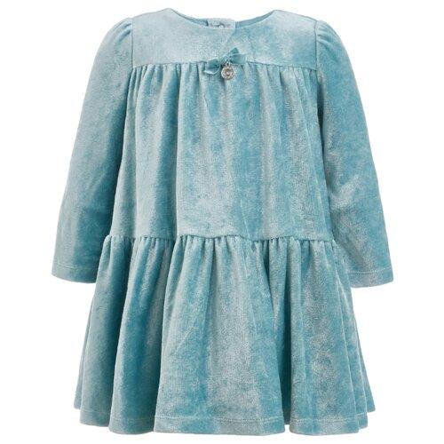 Платье Gulliver Baby размер 74, бирюзовый