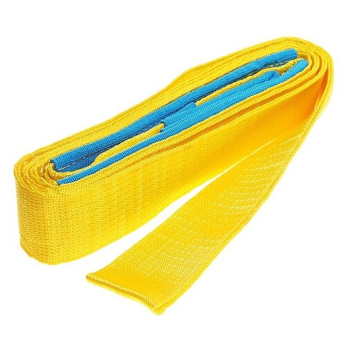 Динамический строп MegaPower M-75056, 6 м (5 т) желтый/голубой строп сорокин 5 415