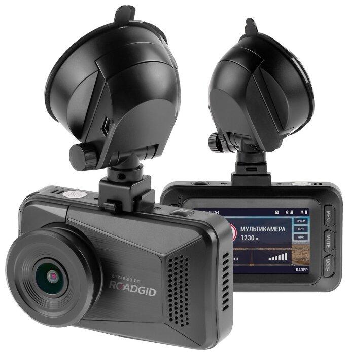Видеорегистратор с радар-детектором Roadgid X8 Gibrid GT, GPS, ГЛОНАСС фото 1