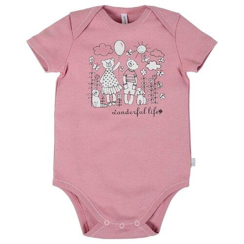 Купить Боди Мамуляндия размер 62, тёмно-розовый
