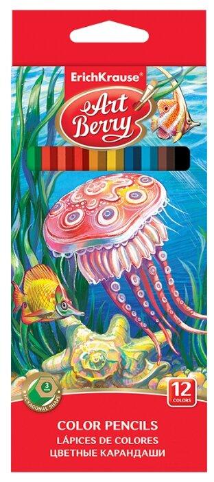 ErichKrause Цветные карандаши ArtBerry 12 цветов (32878)