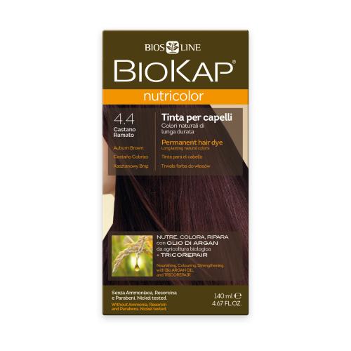 BioKap Nutricolor крем-краска для волос, 4.4 медно-коричневый
