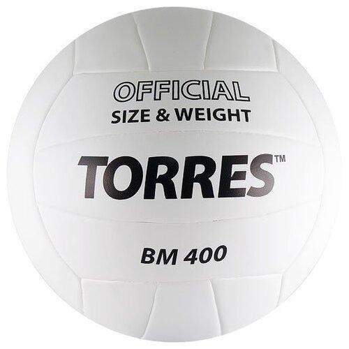Волейбольный мяч TORRES BM400 белый