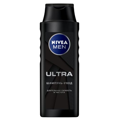 Nivea шампунь-уход Men Ultra Длительная свежесть и чистота 400 мл недорого