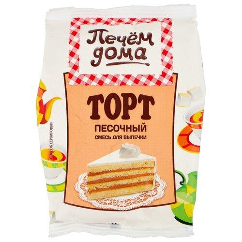 Печём Дома Смесь для выпечки Торт песочный, 0.4 кг