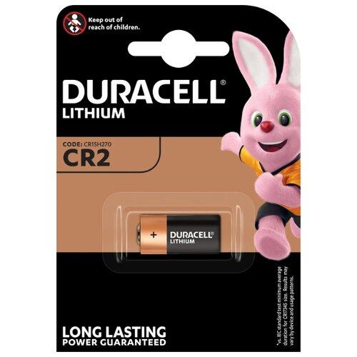 Фото - Батарейка Duracell Ultra CR2 1 шт блистер pure прокладки гигиенические женские dry ultra 28 см 10 шт