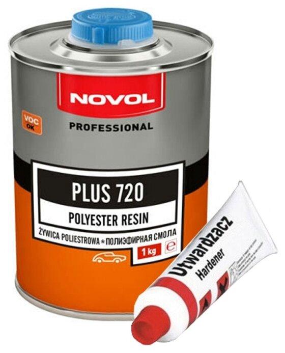 NOVOL PLUS 720 Полиэфирная смола + отвердитель 720, уп.1л+25г