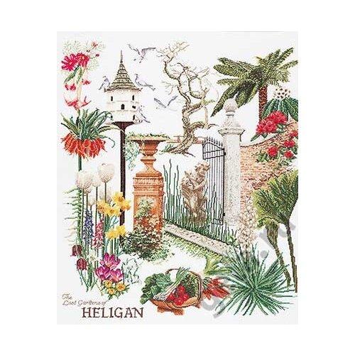 Купить Набор для вышивания Хелиган сада, канва лён 36 ct, Thea Gouverneur, Наборы для вышивания