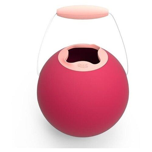 Ведро Quut Ballo Classic вишнёвый красный и сладкий розовый