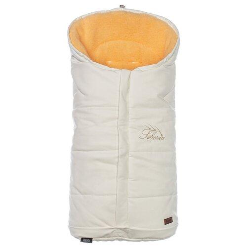 Купить Конверт-мешок Nuovita Siberia Lux Pesco меховой 90 см белый, Конверты и спальные мешки