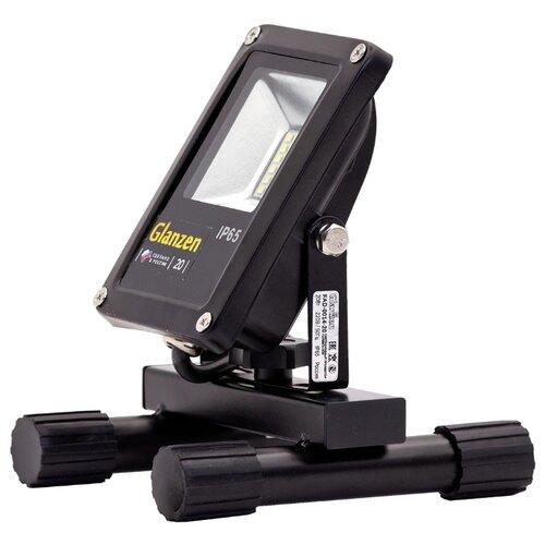 Прожектор светодиодный 20 Вт Glanzen FAD-0014-20 portable led spotlight glanzen fad 0014 20