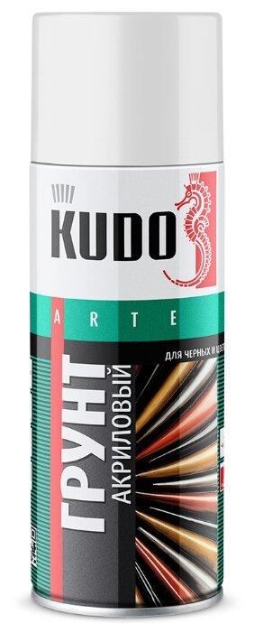 Аэрозольный грунт-наполнитель KUDO для черных и цветных металлов
