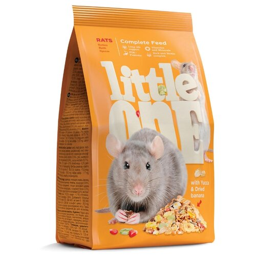 Корм для грызунов LITTLE ONE для крыс 900г
