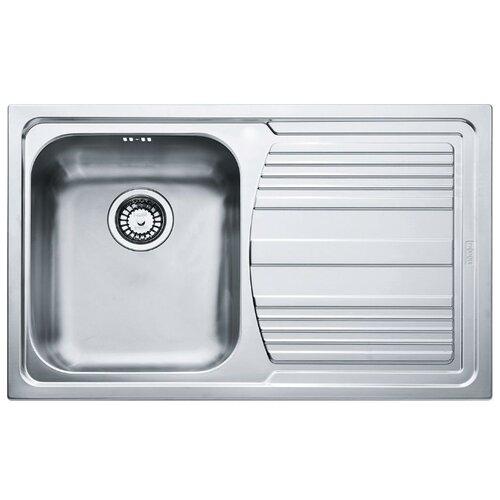 Врезная кухонная мойка 79 см FRANKE LLX 611 L нержавеющая сталь/полированная