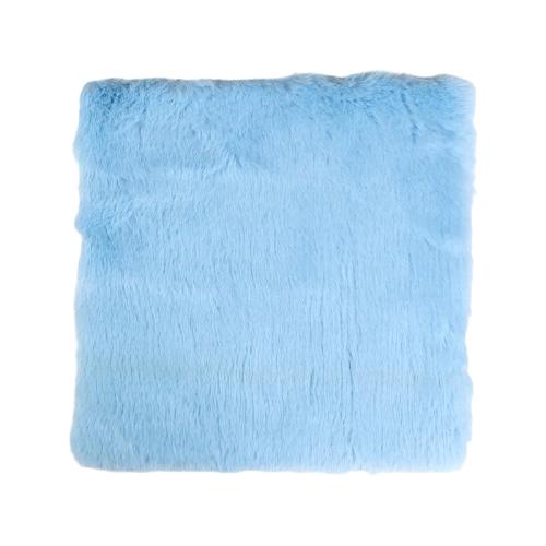 Мех искусственный Арт Узор для творчества 1200 г/м, 30х30 см голубой