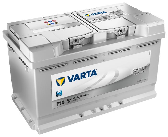 Аккумулятор VARTA Silver Dynamic F18 (585 200 080)