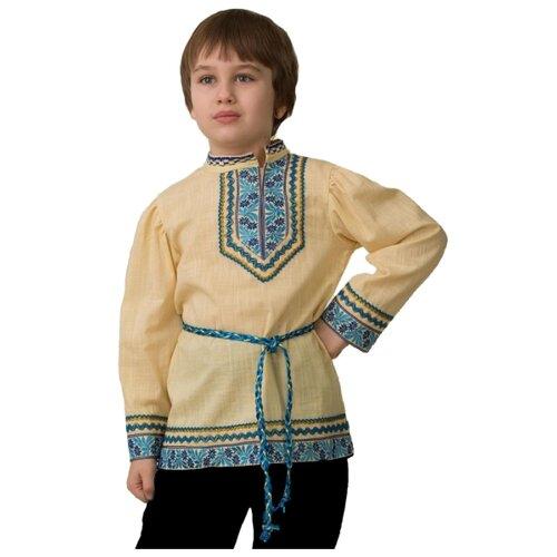 Косоворотка вышиванка Батик детская, 40 (158 см)