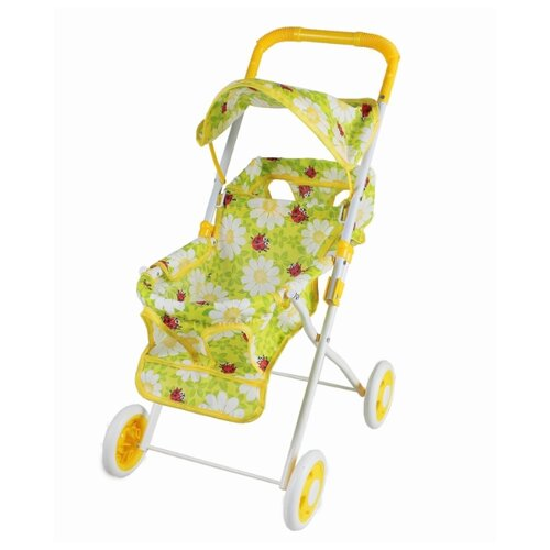 Купить Прогулочная коляска Yako M0489 ромашки, Коляски для кукол