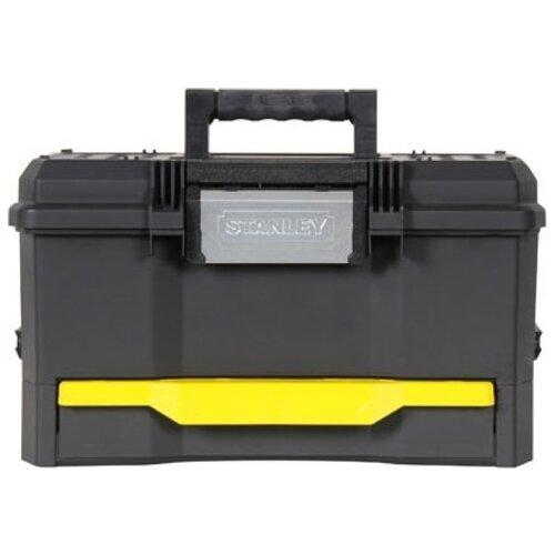 Ящик с органайзером STANLEY 1-70-316 48x28x29 см 19'' черный/желтый ящик с органайзером stanley jumbo 1 92 906 27 6x48 6x23 2 см черный желтый