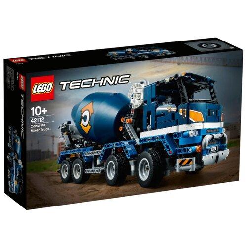 Купить Электромеханический конструктор LEGO Technic 42112 Бетономешалка, Конструкторы
