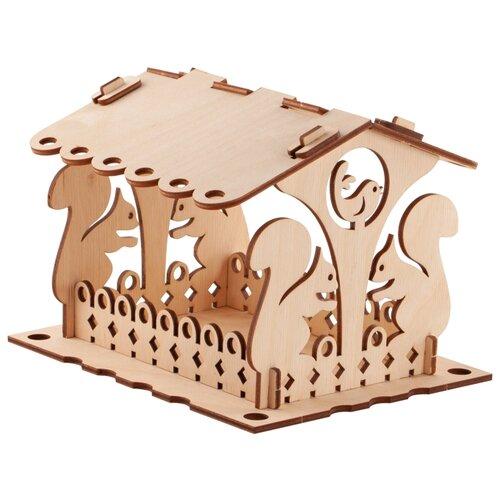 Купить Сборная модель LORI Кормушка для птиц. Набор №2, Сборные модели