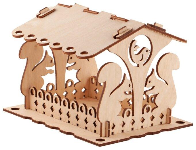 Сборная модель LORI Кормушка для птиц. Набор №2