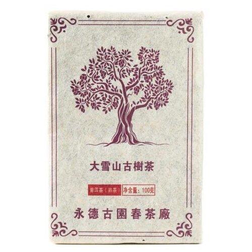 Чай Пуэр Гу Юэн Чун Хун Шу, 100 г