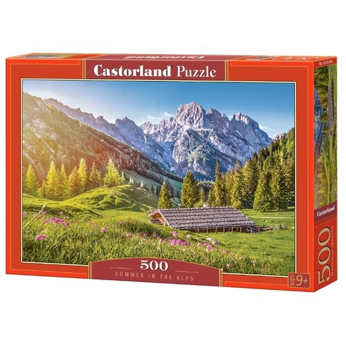 Фото - Пазл Castorland Лето в Альпах (B-53360), 500 дет. пазл castorland old sutter's mill b 52691 500 дет