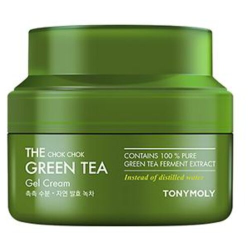 TONY MOLY The Chok Chok Green Tea Gel Cream Гель-крем для лица с экстрактом зеленого чая, 60 мл недорого