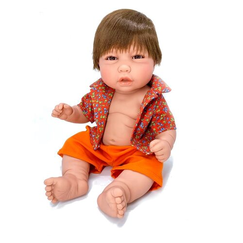 Кукла Manolo Dolls Noa nino, 48см, 8061 кукла младенец manolo dolls мягконабивной canguros 30см 4500