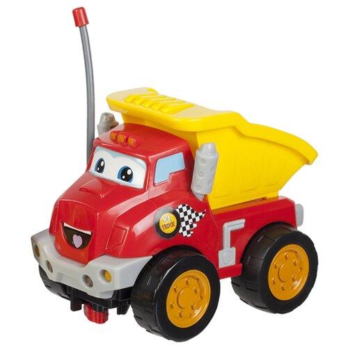 Купить Грузовик Jazwares Rollin Racer Chuck (92571) 14.5 см красный/желтый, Радиоуправляемые игрушки